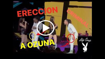 NATASHA se lo PARA a OZUNA bailando criminal EN VIVO 2018