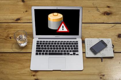 Bagaimana Agar Baterai Laptop Tidak Cepat Rusak? Ini Caranya