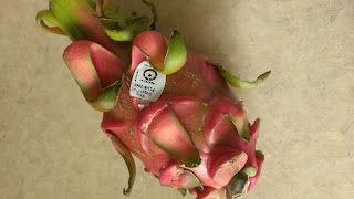Dragon fruit from Market District