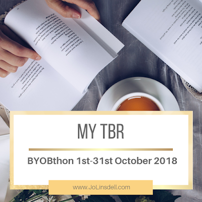 #BYOBthon 1st-31st October 2018: My TBR