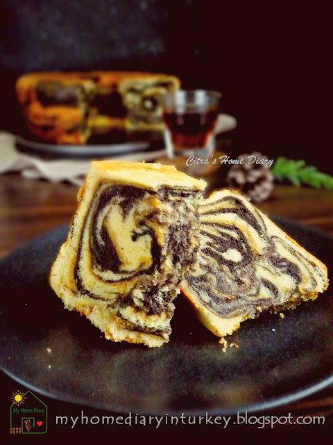 My Best Marble Butter Cake / Resep Bolu Marmer jadul