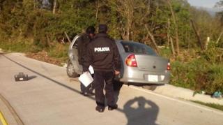 Presunto secuestro de un hombre en Huatusco Veracruz
