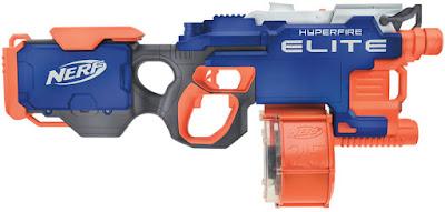 Súng máy Nerf Elite Hyper-Fire Blaster