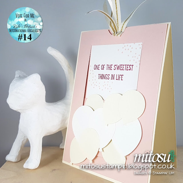 Stampin Up Mitosu Crafts Sweet Cupcake Order Stampinup UK Online Shop 2