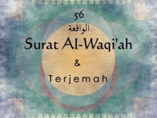 Bacaan Surat Al Waqiah Lengkap Arab, Latin dan Terjemahannya