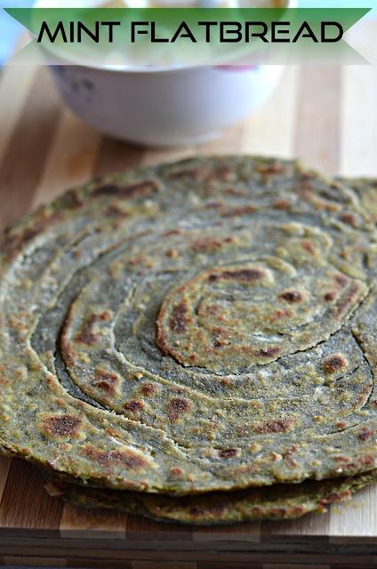 how to make pudina laccha paratha
