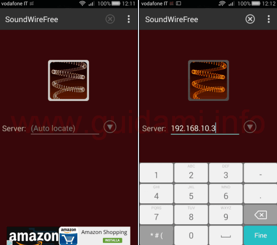 SoundWire Free app Android