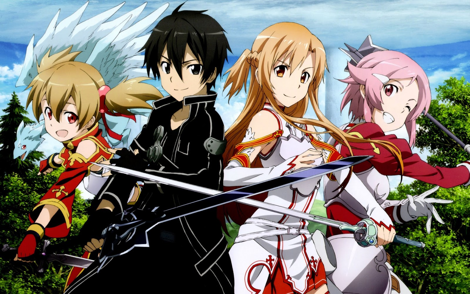 One Line Art Action : Sword art online is plugging into live action series