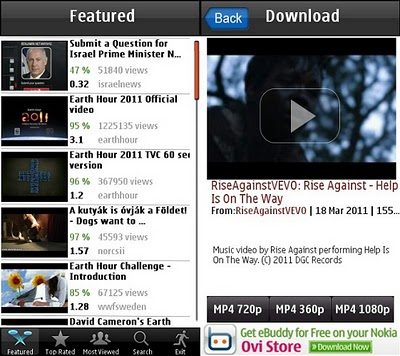 Mobile Apps Resource: Download Youtube videos on Symbian