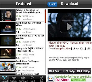 symbian download youtube