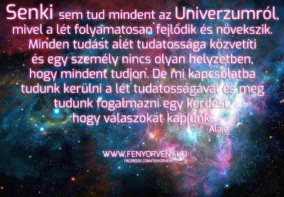 Senki sem tud mindent az Univerzumról