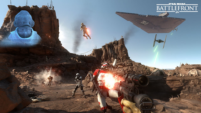 Star Wars Battlefront Beta gameplay