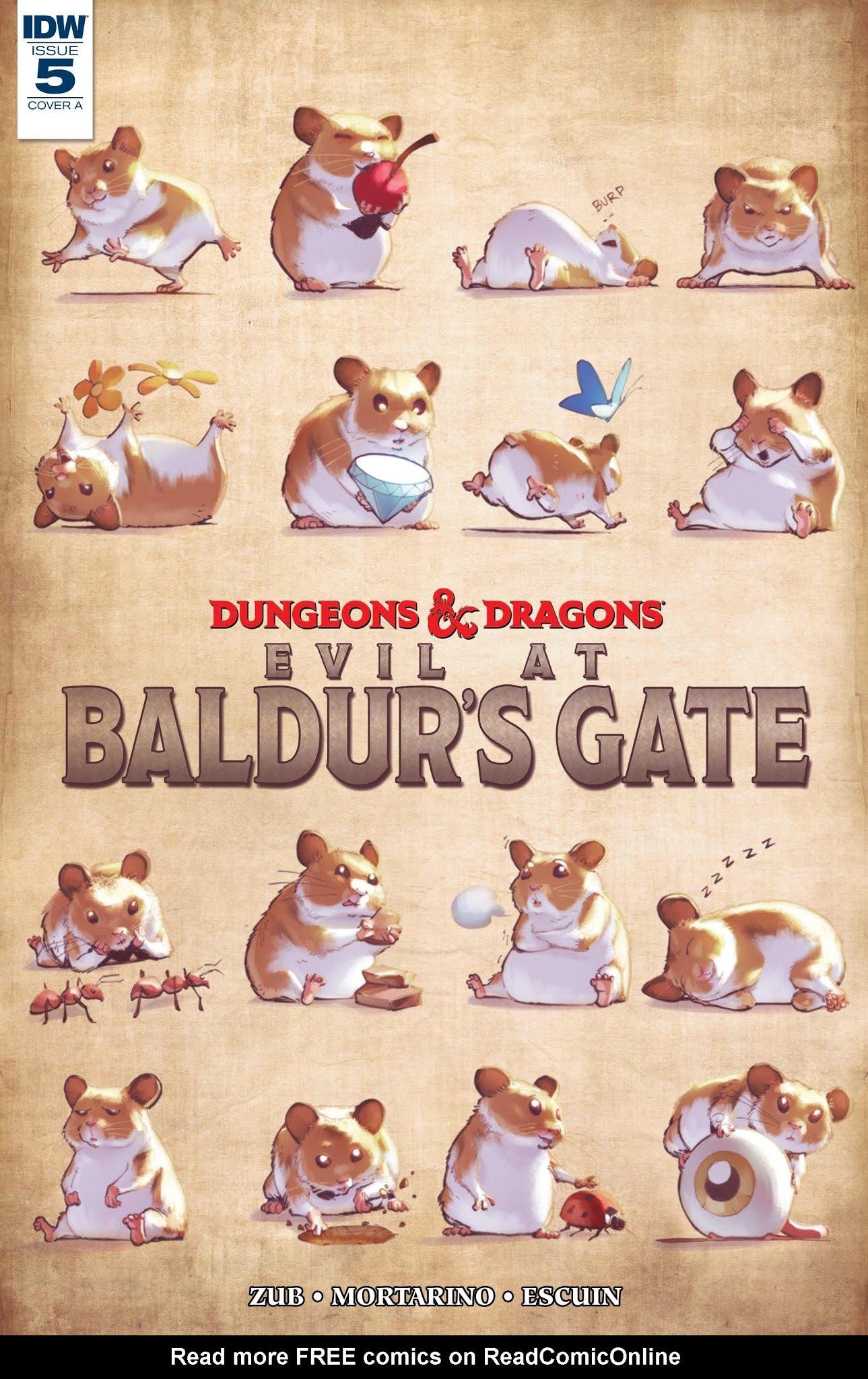 Dungeons & Dragons: Evil At Baldurs Gate 5 Page 1