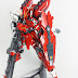 Custom Build: MG 1/100 RX-93-v2 [SZS]: Hi Nu Sazanju Stein Gundam
