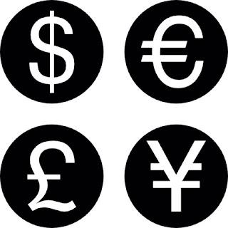 اختصارات واشكال ورموز العملات