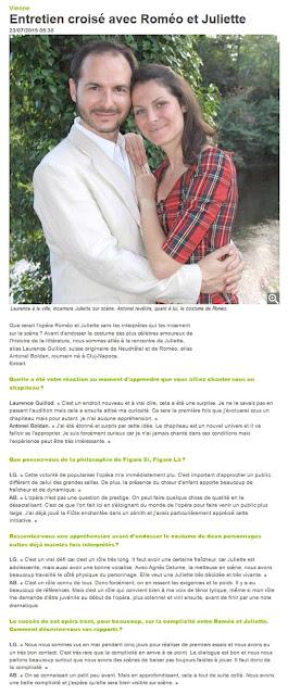 http://www.lanouvellerepublique.fr/Vienne/Loisirs/24H/n/Contenus/Articles/2015/07/23/Entretien-croise-avec-Romeo-et-Juliette-2411499
