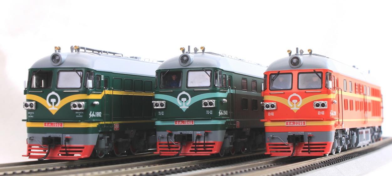 Model Trains Ho Scale Bachmann China Locomotive Df4b