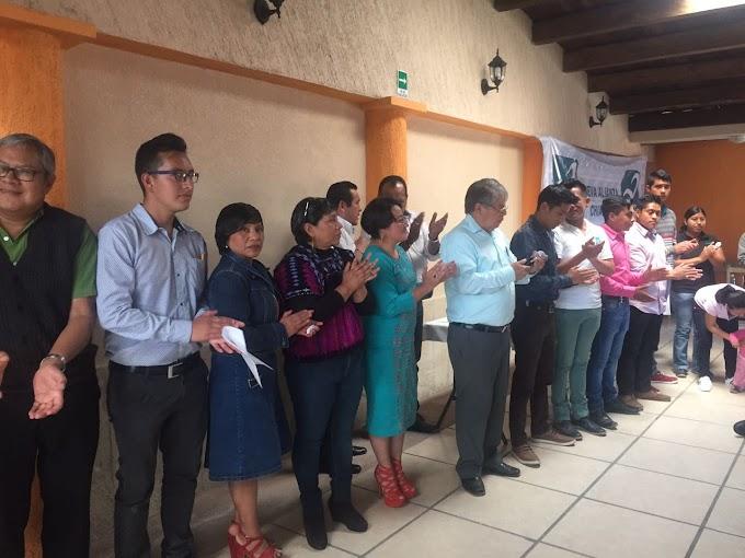 Nombran a Regidora Aracely García como nueva presidenta del PANAL en SCLC.