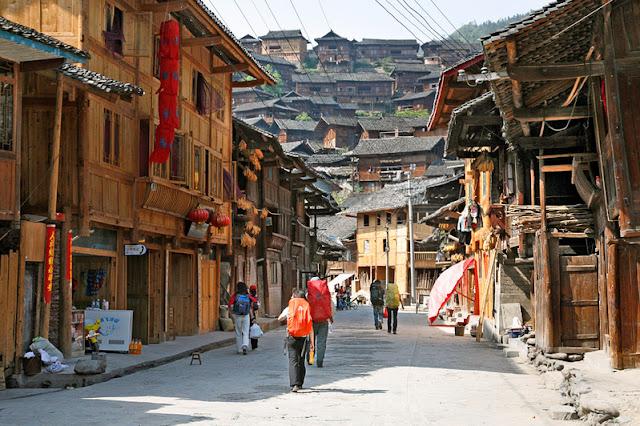 Ngôi làng Tây Giang Thiên Hộ Miêu Trại