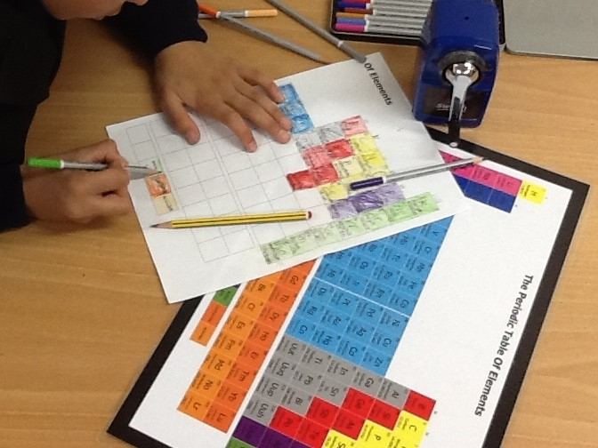 The learning ark elementary montessori great lesson 1 the the children can also use the blank chart to make their own periodic table i have included one with the periodic table for sale here urtaz Images