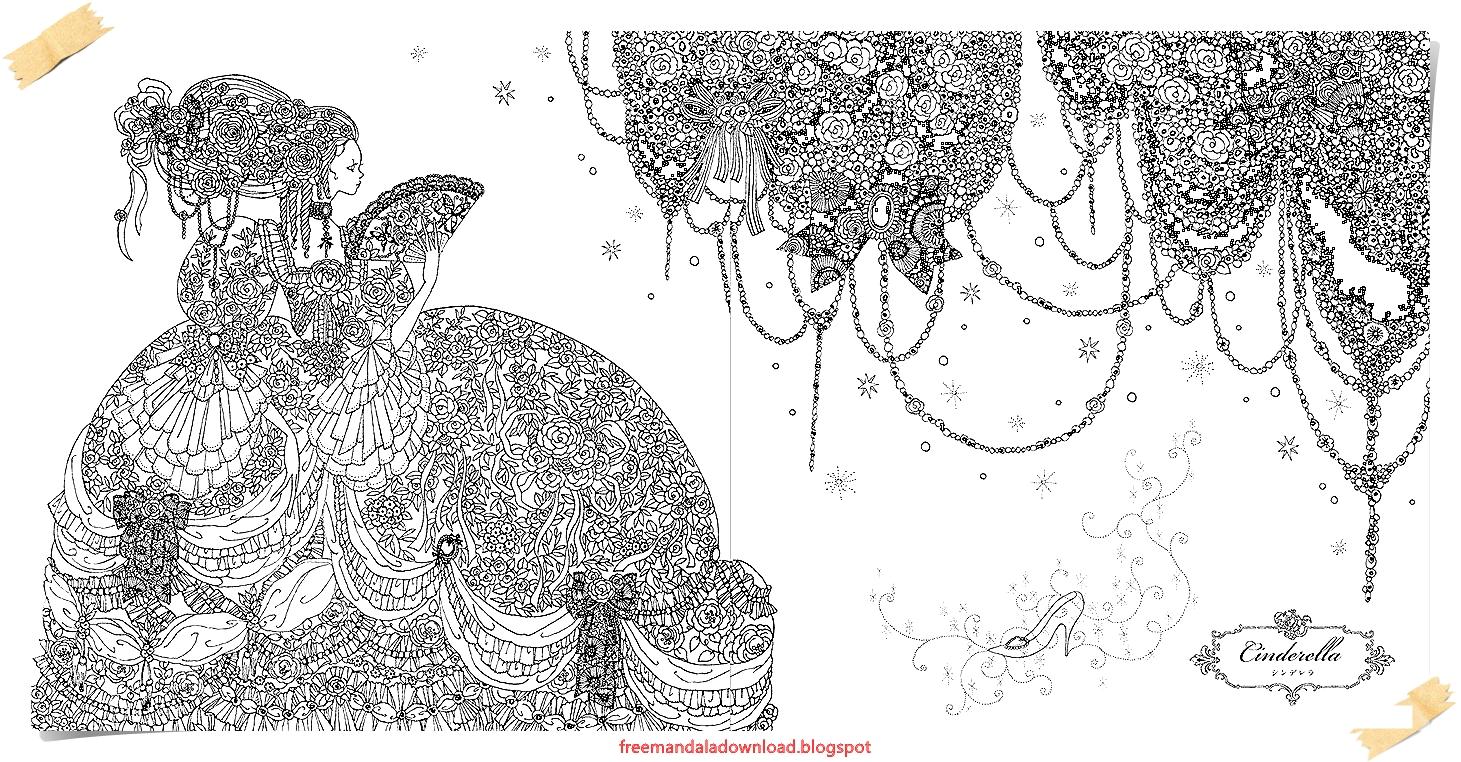 Disney Mandala frei bedruckba /Disney Mandala free printable