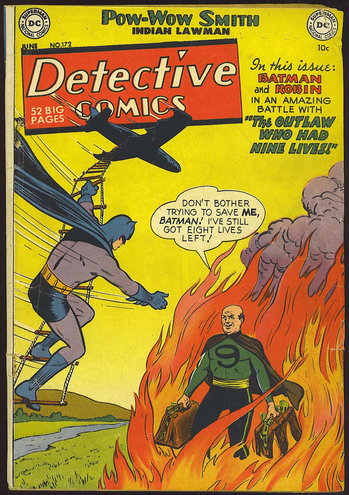 Detective Comics (1937) 172 Page 1
