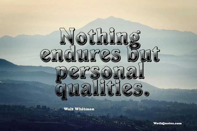 Quality Quotes and Sayings