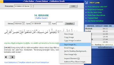 Cara Mudah Masukan Ayat Quran di Postingan Blog