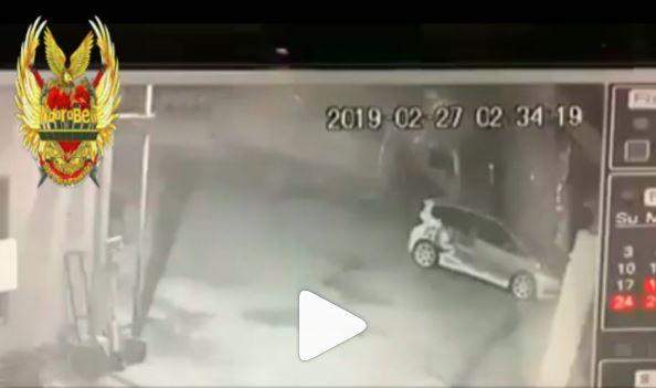 Horor, Motor Matik Mio Tanpa Pengendara Terekam CCTV Melaju Dijalanan Buat Warga Merinding