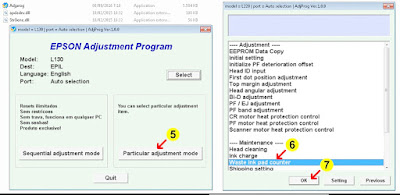 How to Use Adjustment Program Epson L130 Sublimation printer