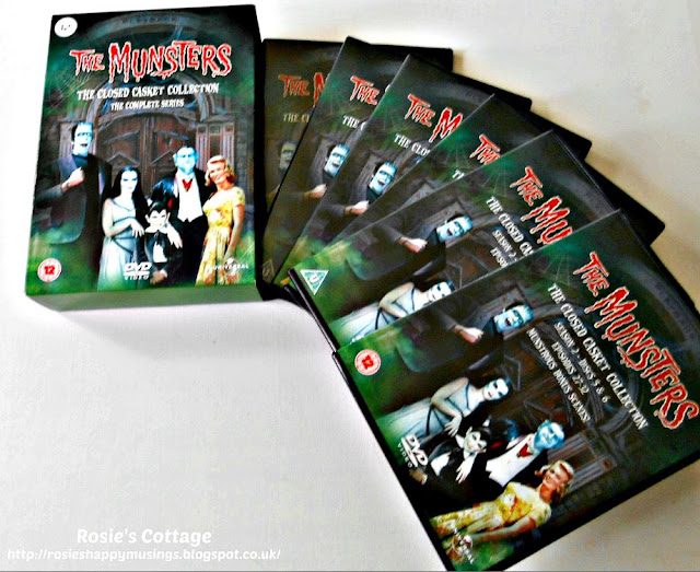 Some DVD box set suggestions for when you just need a sofa day...The Munsters.