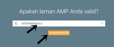 Cara Mudah Cek Validasi AMP