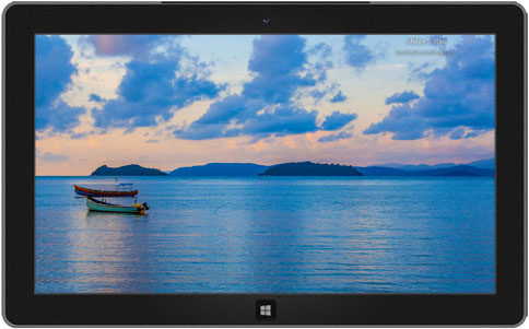 South Indian Beaches Theme for Windows 8