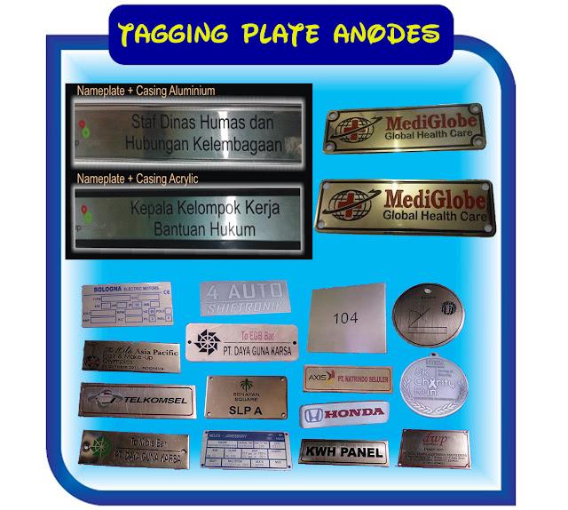 Anodizing Murah Daerah Tangerang, Jasa Pembuatan Plat Alumunium Teknik Anodes Anodizing, Percetakan Murah Tangerang, Tagging Plate Name Anodes,