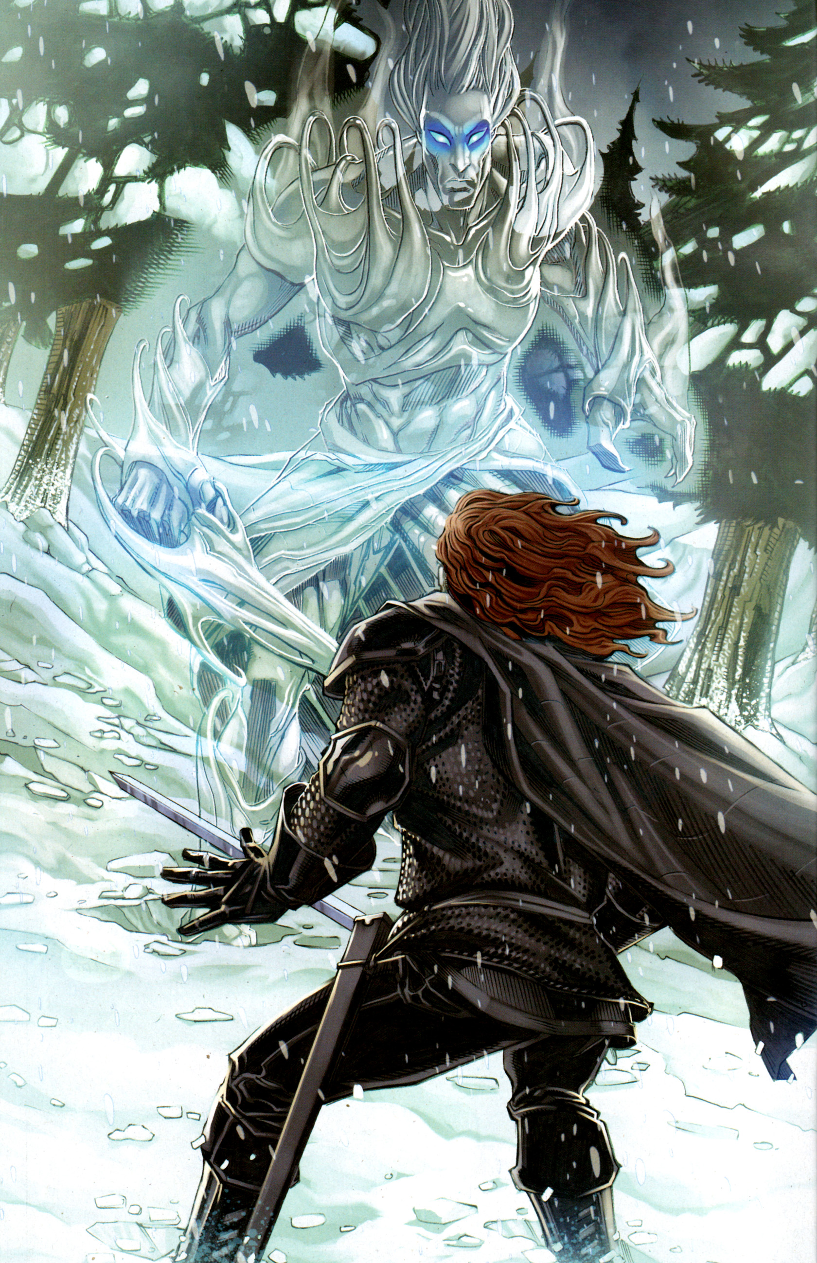 Read online A Game Of Thrones comic -  Issue #1 - 6