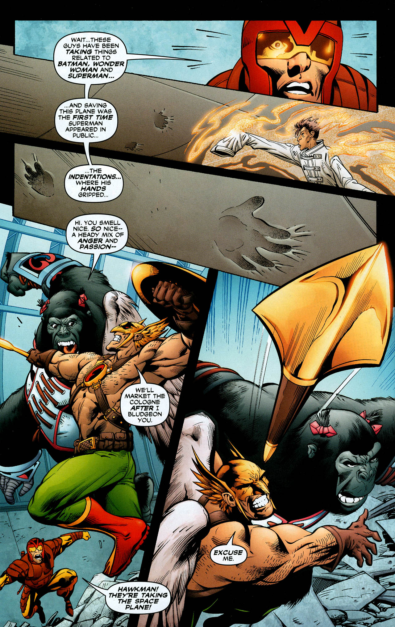 Read online Trinity (2008) comic -  Issue #11 - 29