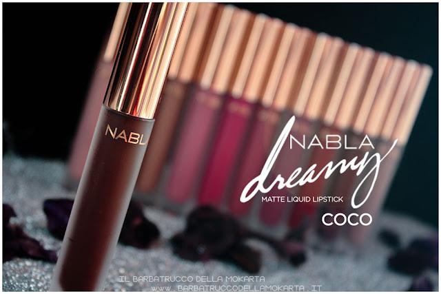 coco Dreamy Matte Liquid Lipstick rossetto liquido nabla cosmetics