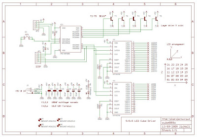 PDF: LED Matrix CUBE Controller 5x5x5 Circuit Diagram