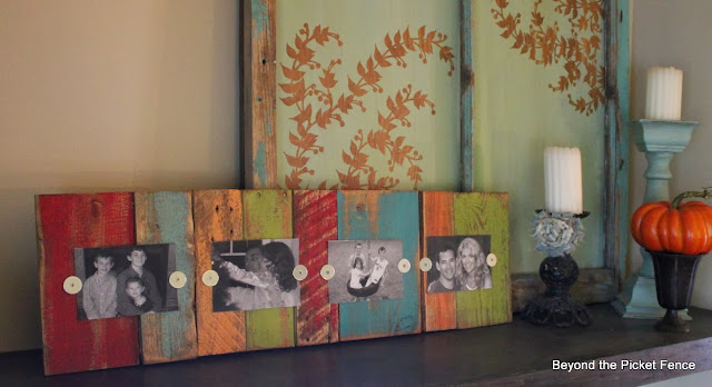 scraps, pallet wood, frame, photo holder, http://goo.gl/mHMD53