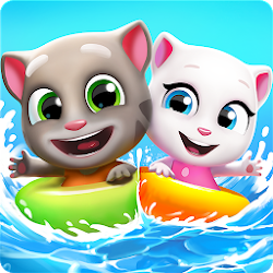 Talking Tom Pool is currently the latest puzzle game inward the Outfit Talking Tom Pool v2.0.1.488 Apk Mod (Unlimited Money/Lives)