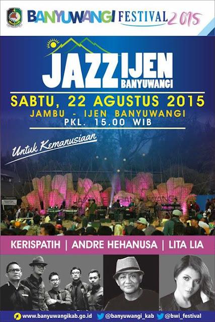 Banyuwangi Gelar Java Jazz Festival Untuk Kemanusian