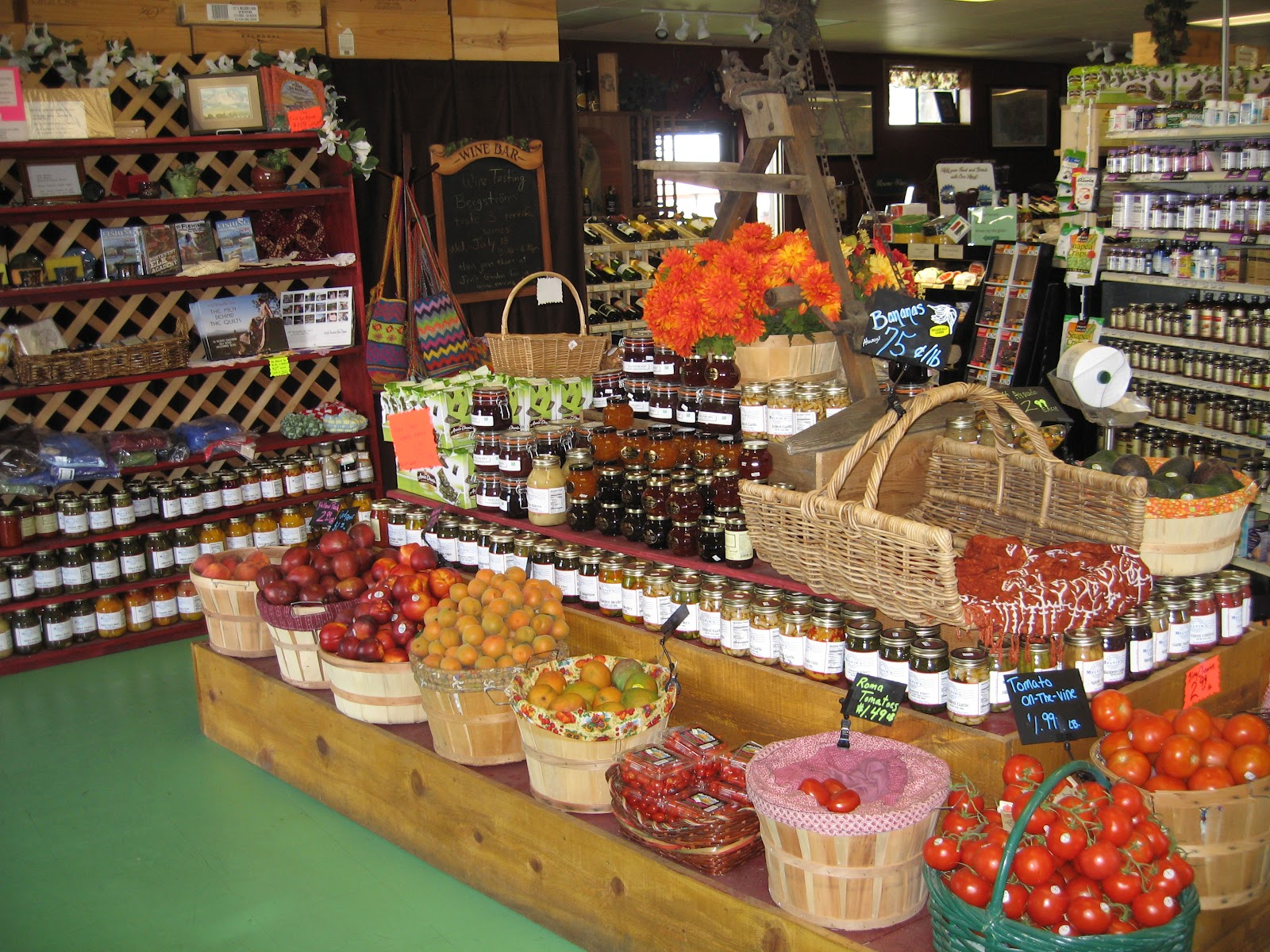 Melvin S Market Natural Organic Health Food Store In