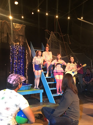 the daughters of the captain in hot pants and blouses for pirates of penzance
