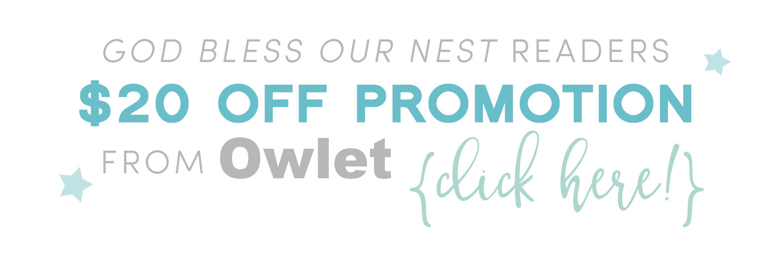 https://store.owletcare.com/10043036/checkouts/e3b17f11ba047f9bd18c6c6525ccee1f?discount=god_bless_our_nest_20&n=God+Bless+{Our}+Nest