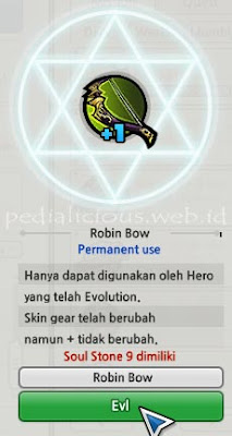 Robin Hood Weapon Evolution LostSaga Indonesia