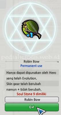 Robin Hood Weapon Evolution LostSaga Indonesia