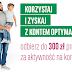 300 zł za 3 wpływy i płatności kartą z darmowym Kontem Optymalnych (+ 100 zł za płatności mobilne i 200 zł za kartę kredytową dla chętnych!)