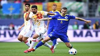 بث مباشر مباراة اسبانيا و البوسنة والهرسك اليوم 2018-11-18 Spain vs Bosnia Live
