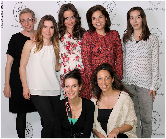 L'Atelier Maquillage Paris - La Team - Blog beauté Les Mousquetettes©