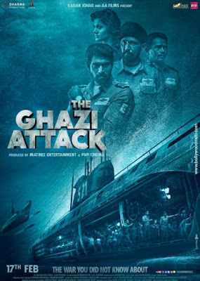Download Film The Ghazi Attack (2017) HD Subtitle Indonesia